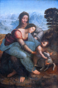 The Virgin and Child with St._Anne_(Leonardo_da_Vinci)