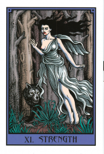 strength vampire tarot